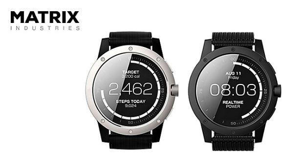 592112c0a7 体温で発電する超エコなスマートウォッチMatrix Power Watch - SoftBank SELECTION WEB MAGAZINE for  Mobile Accessories